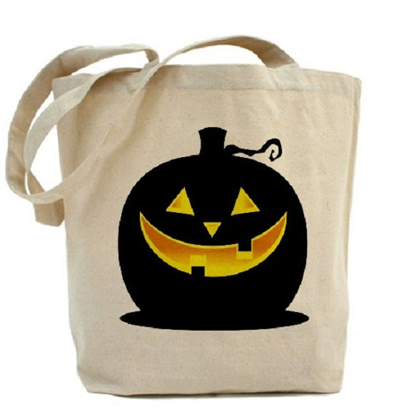 Glowing Pumpkin Treat Bag