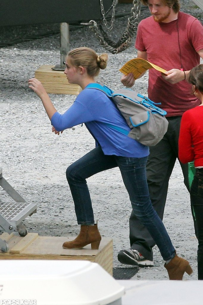 Willow Shields got to work on Catching Fire.
