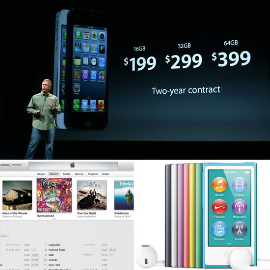 Apple's Big News: iPhone 5, iPod, and iTunes