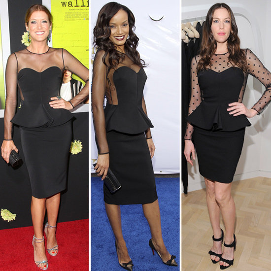 When it comes to cocktailwear, celebrities have been feeling sheer black peplum dresses lately, and CelebStyle editors handpicked their favorite sheer peplum dresses so you can get the part-sweet, part-sassy look for your next fabulous soiree.