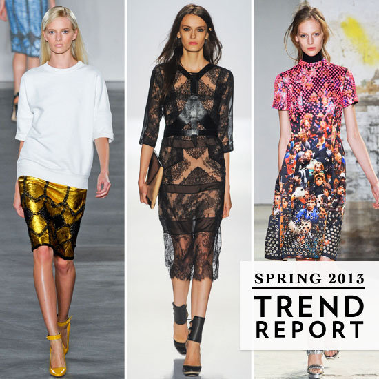 We broke down the trends we spotted on the NYFW runways.