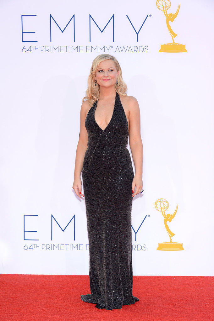 Parks and Recreation star Amy Poehler was nominated for outstanding lead actress in a comedy — and may or may not have swapped speeches with winner Julia Louis-Dreyfus.