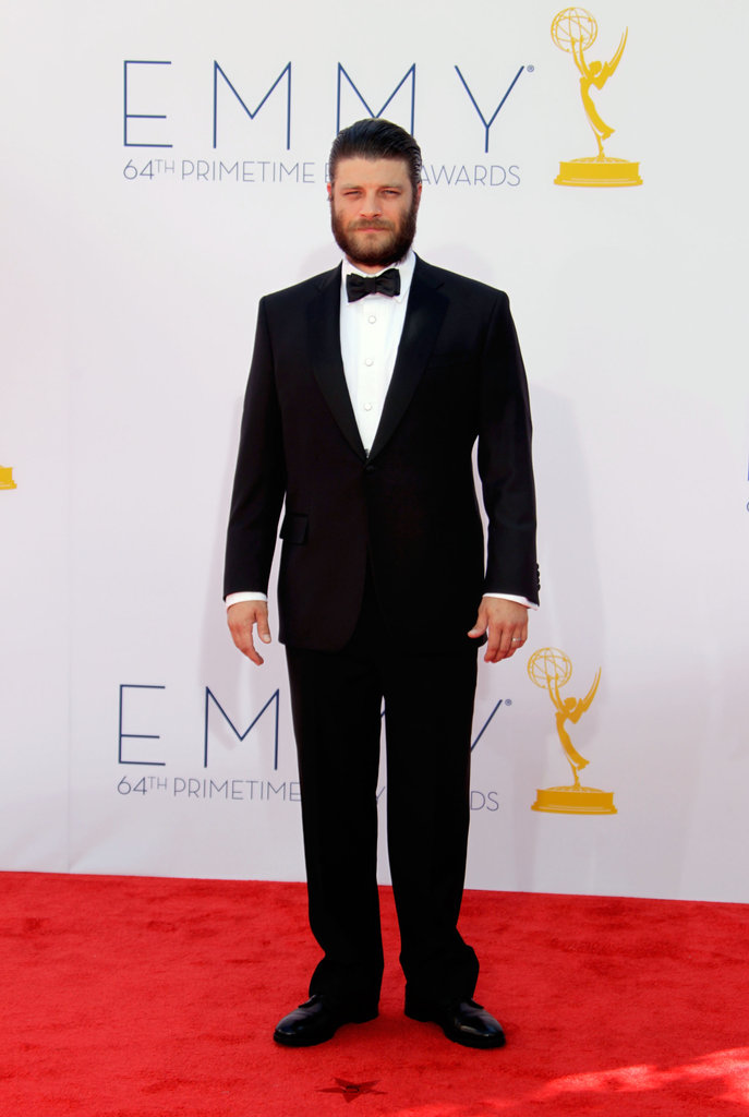Mad Men actor Jay R. Ferguson went for a dapper style on the red carpet.