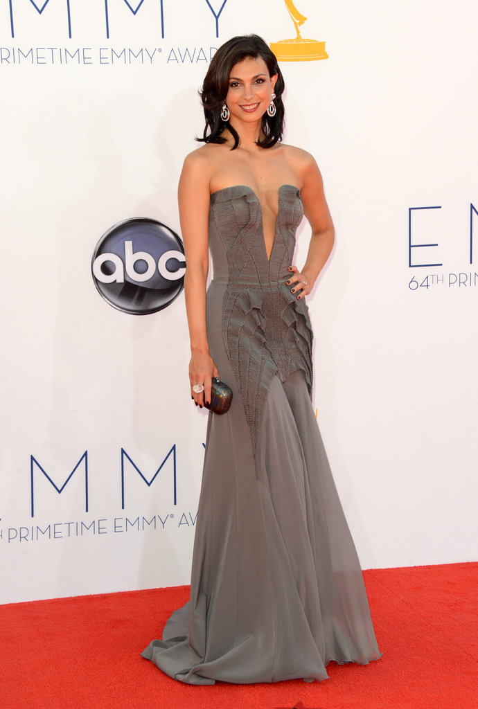 Homeland star Morena Baccarin stunned at the Emmys.