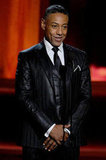 Giancarlo Esposito charmed the crowd while presenting an award.