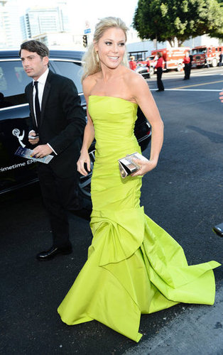 Julie Bowen made a stylish arrival.
