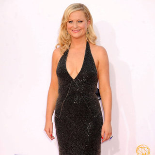 Amy Poehler in Stella McCartney Dress at the Emmys
