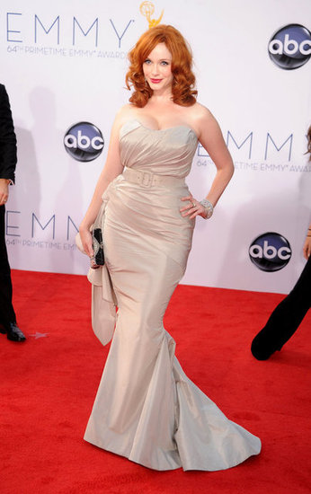 Christina Hendricks Makes a Stunning Emmys Appearance