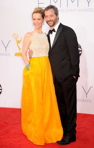 Leslie Mann and Judd Apatow got together for a photo.