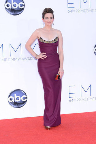 Tina Fey donned a Vivienne Westwood dress.