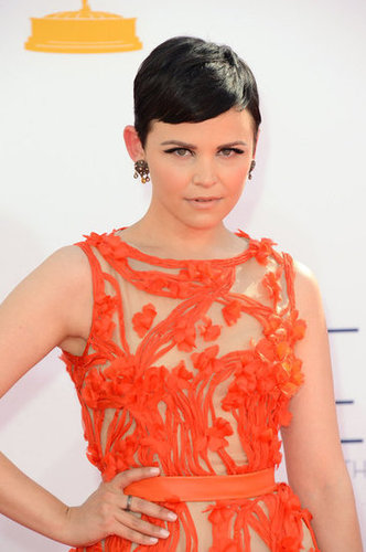 Ginnifer Goodwin wore orange.