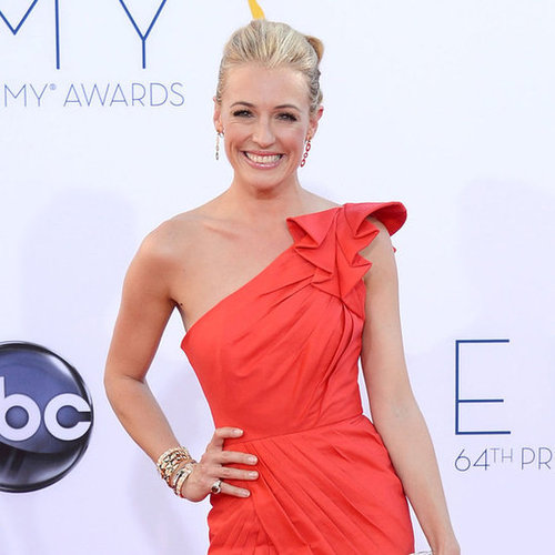 Cat Deeley in a Red Gown at the Emmy Awards 2012 | Pictures