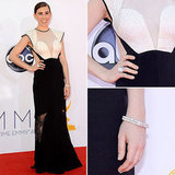Zosia Mamet at the Emmys 2012