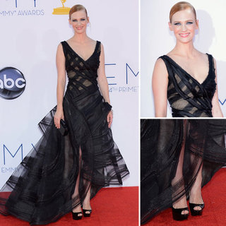 January Jones at the Emmys 2012