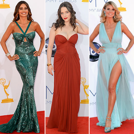The Bombshell Is Back: Bodacious Silhouettes Reign at Tonight's Emmys