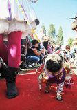 The festival kicked off with a red-carpet parade.