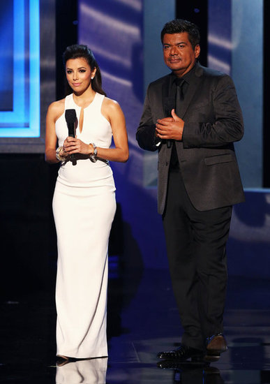 Co-hosts Eva Longoria and George Lopez emceed the evenings festivities at the ALMA Awards in LA.