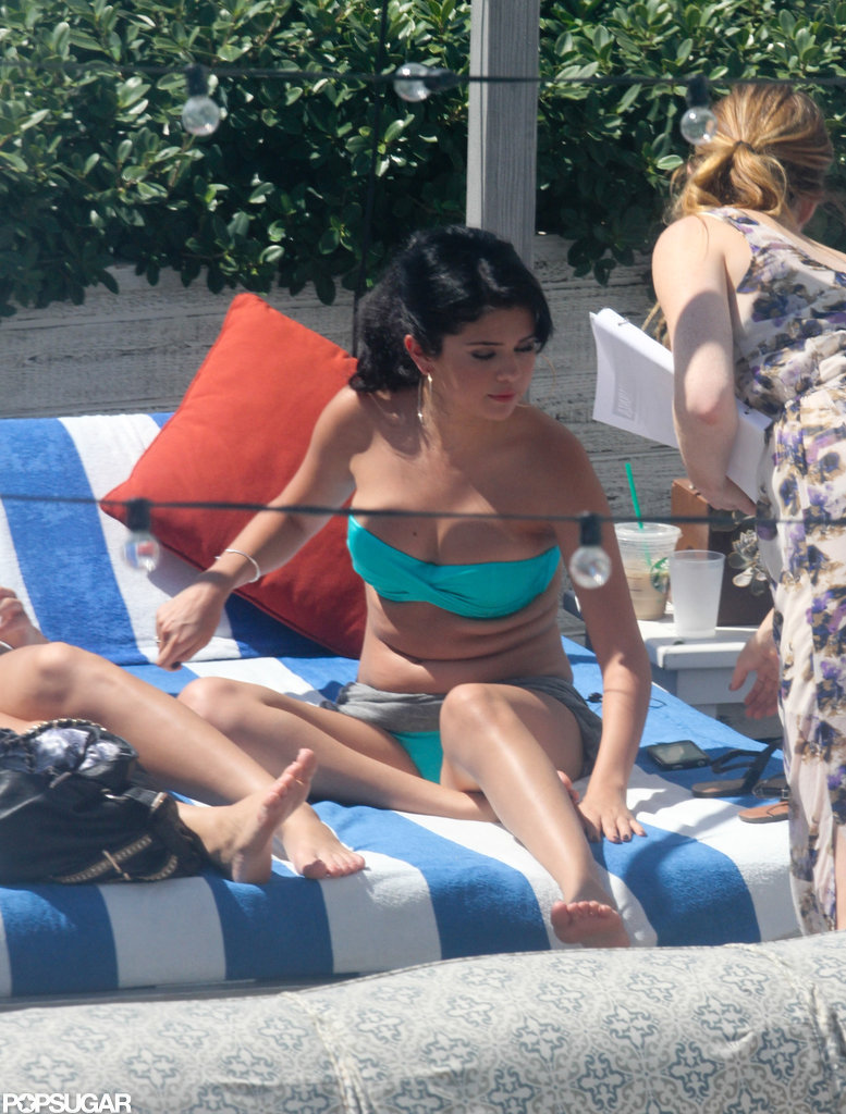 Selena Gomez Fits in Bikini Time During a Miami Visit