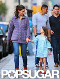 Katie Holmes and Suri Cruise spent the day together in NYC.