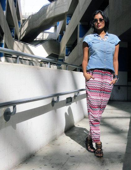 denim shirt pajama pants