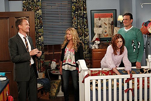Baby makes three for Lily (Alyson Hannigan) and Marshall (Jason Segel)!