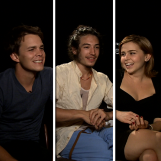 The Perks of Being a Wallflower Cast Video Interview