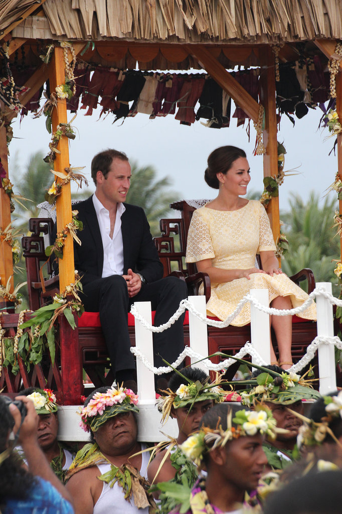 Prince William and Kate Middleton Show Off Their Dance Moves in Tuvalu
