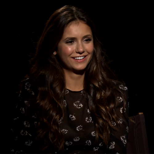 Nina Dobrev The Perks of Being a Wallflower Video Interview