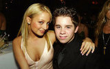 Nicole Richie shared a hug with Ryan Pinkston in 2004.