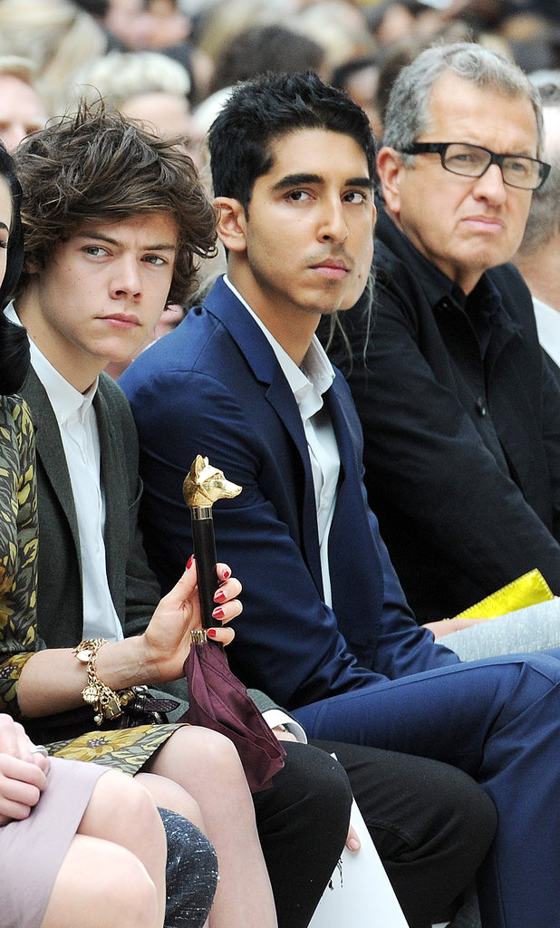 Dev Patel went to Burberry.
