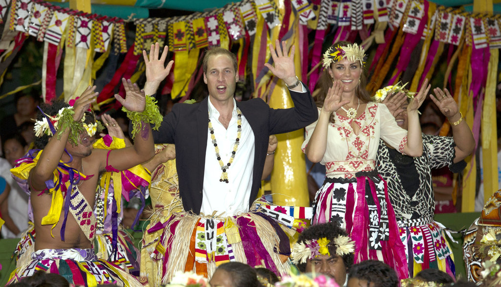 Prince William and Kate got into the fun on day eight of their tour of the Far East.