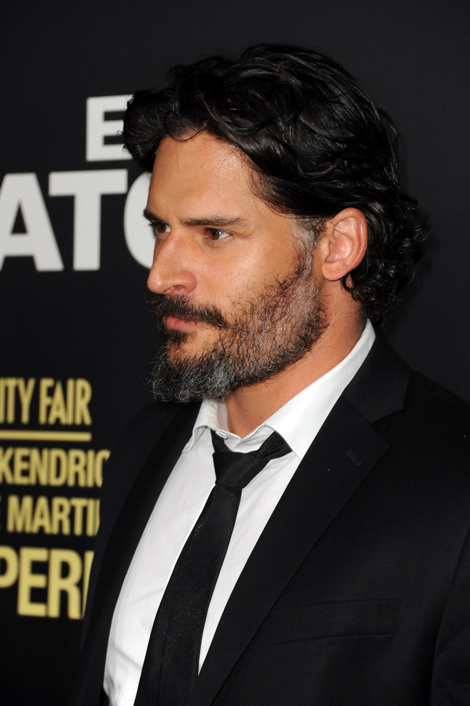 Joe Manganiello made an appearance at the End of Watch premiere in LA.