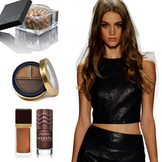 Bronze and Brown Nail Polish, Eyeshadow and Lipstick Trend From MAC, Tom Ford and More