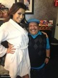 Chuy helped Eva Longoria get ready before her spot on Chelsea Lately. Source: Eva Longoria on Who Say