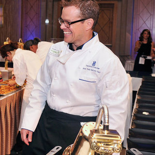 Matt Damon at Cooking Benefit | Pictures