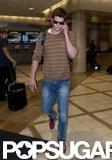 Liam Hemsworth departed out of LAX.