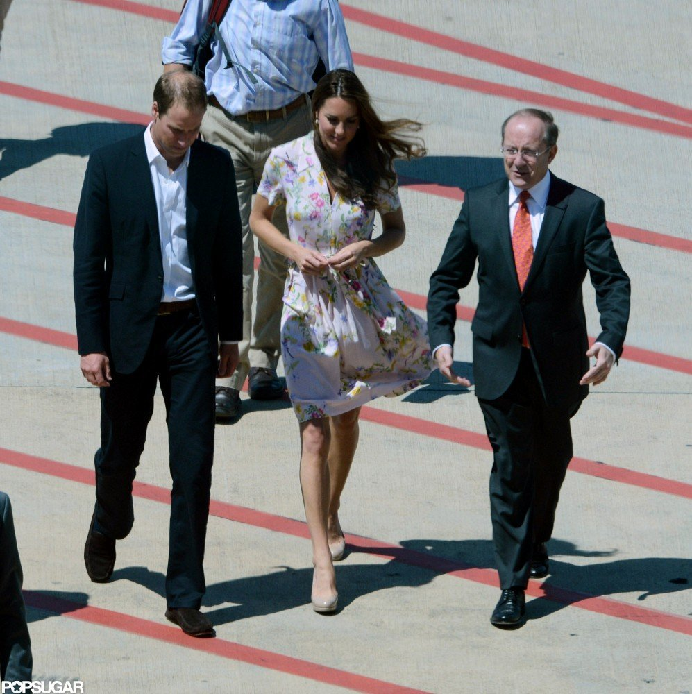 Kate Middleton wore Project D in Brisbane with Prince William.