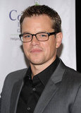 Matt Damon spent a night mixing food and philanthropy.