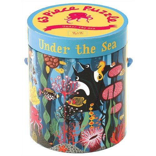 Mudpuppy Press Under the Sea 63 Piece Puzzle ($17)