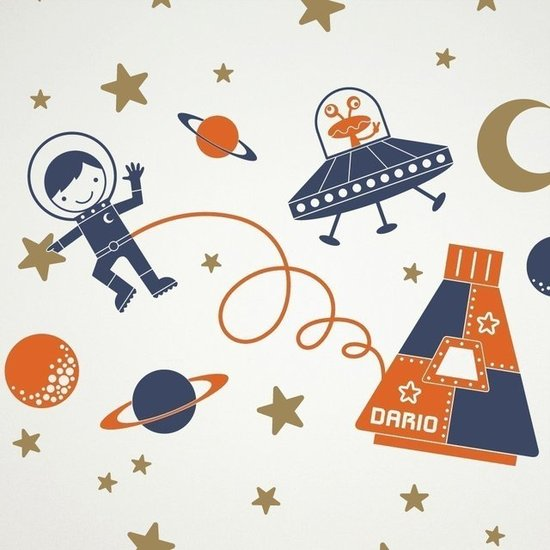 Outer Space Vinyl Wall Decal Sticker Set ($70)