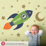 Rocket Boy Wall Decal ($50)