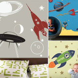 Blast Off! Space-Themed Wall Decals That Transform Rooms