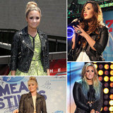 Demi Lovato's Fashion Obsession: Leather Biker Jackets