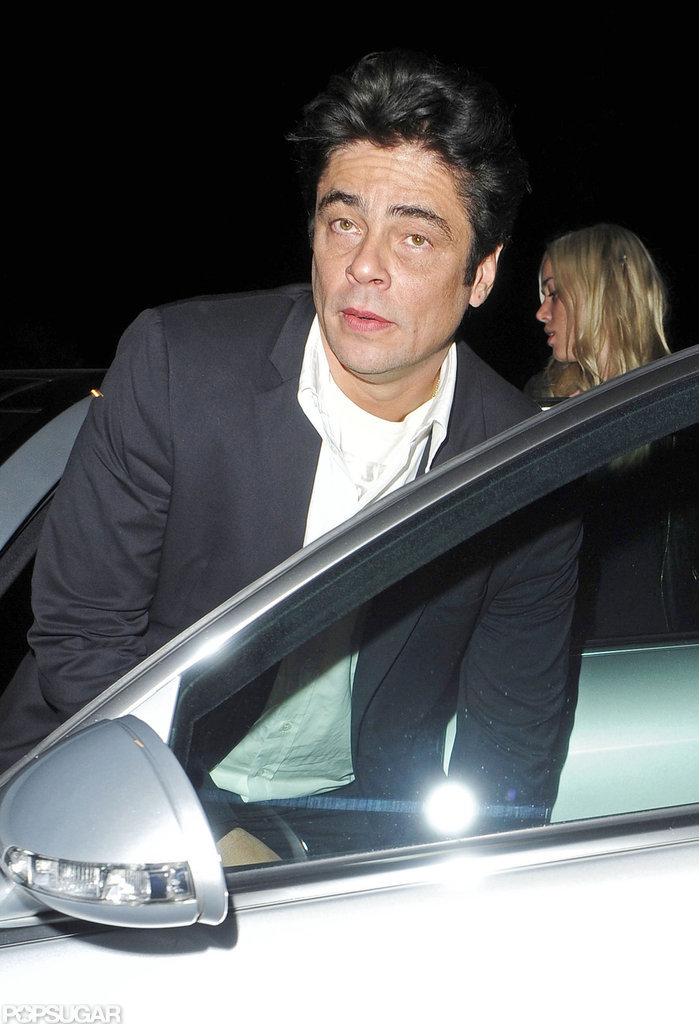 Tom Cruise Hits the Club in London With Benicio Del Toro