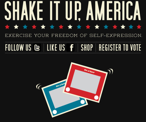 Etch A Sketch Shake It Up America