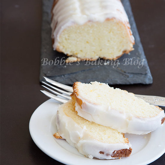 white chocolate chunk pound cake