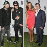 Joel and Benji Madden Mix Footy and Friends in Melbourne