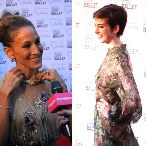 Sarah Jessica Parker Talks Valentino, Valentino Reveals He's Making Anne Hathaway's Wedding Dress