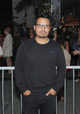 Jake Gyllenhaal's End of Watch costar Michael Peña stepped out to see the show.