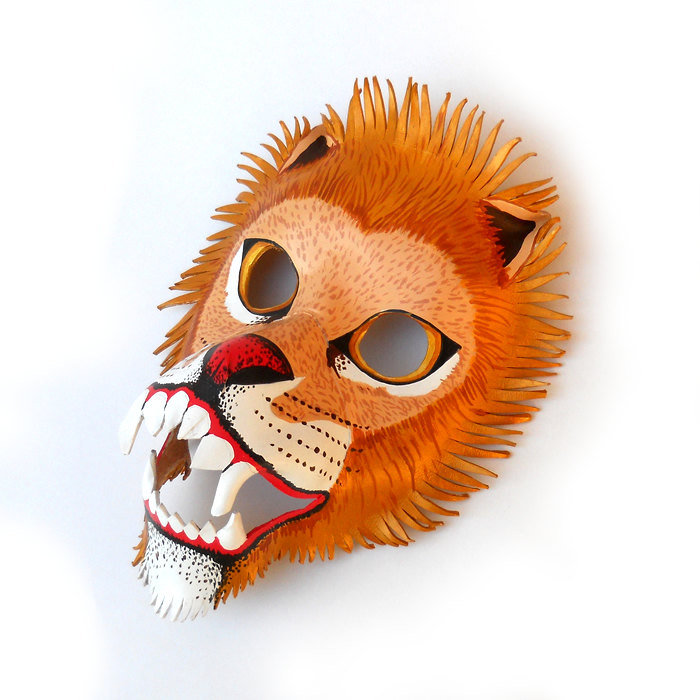 Leather Lion Mask ($65)